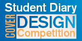 Student Diary cover competition promo button