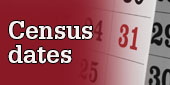 Census dates
