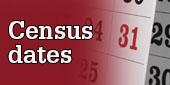 Census dates