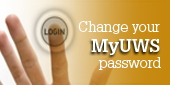 Change your MyUWS password