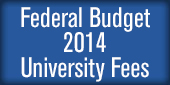 Federal Budget 2014 - Univeristy fees