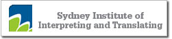 Sydney Institute of Interpreting and Translation