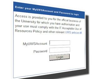 MyUWS login